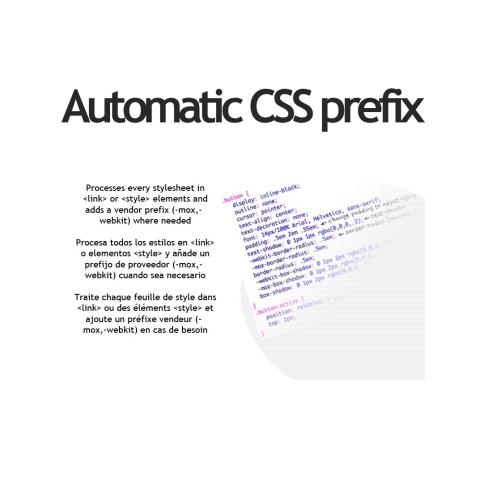 Automatic CSS prefix