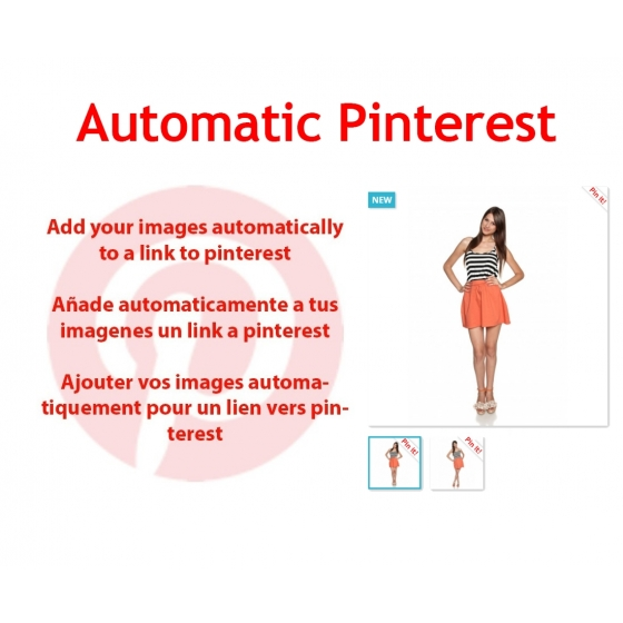 Automatic Pinterest Lite prestashop