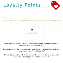 Loyalty Points PrestaShop 1.7