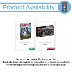Availability in product list