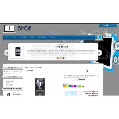 IStore - editor tema dan template