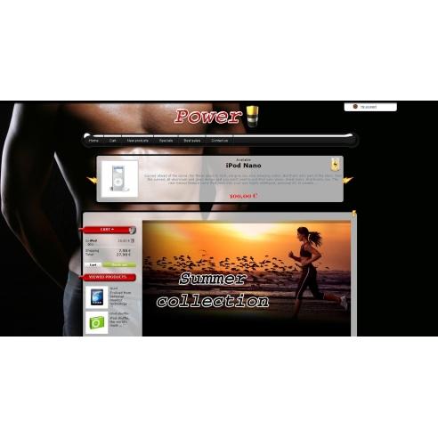 Power up - Template y editor de template