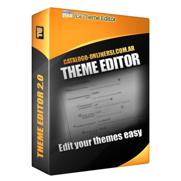 Thema editor handmatige 1.3