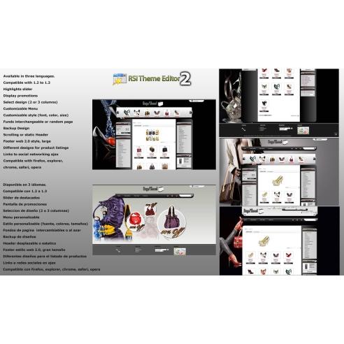 -Los zapatos y las bolsas TEMA Editor 2.0