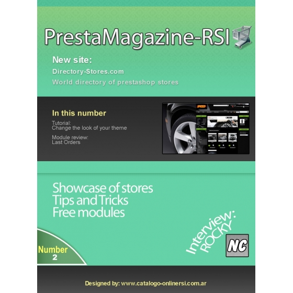 Prestamagazine Nº2 EN-ES.