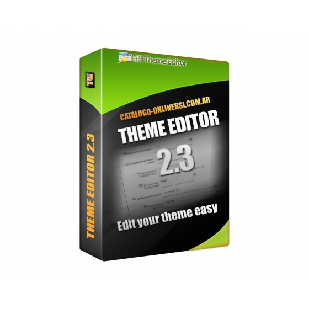 Manual do tema Editor 2.0