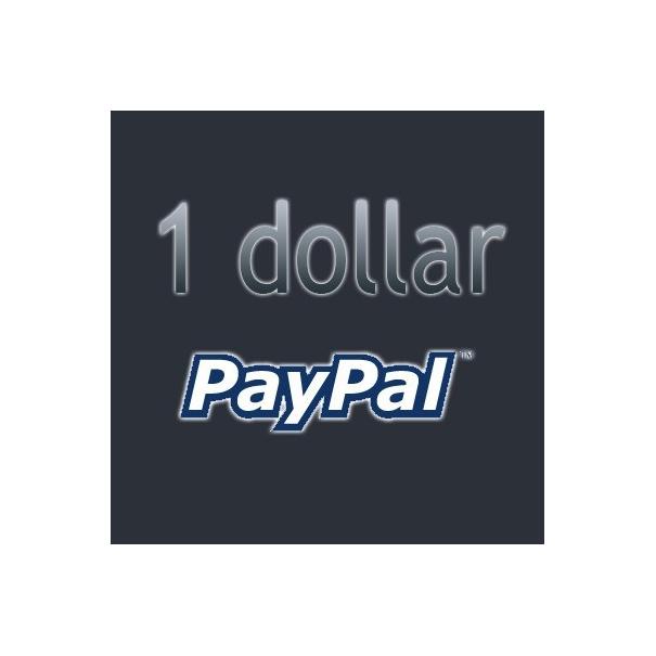 Пожертвование $1