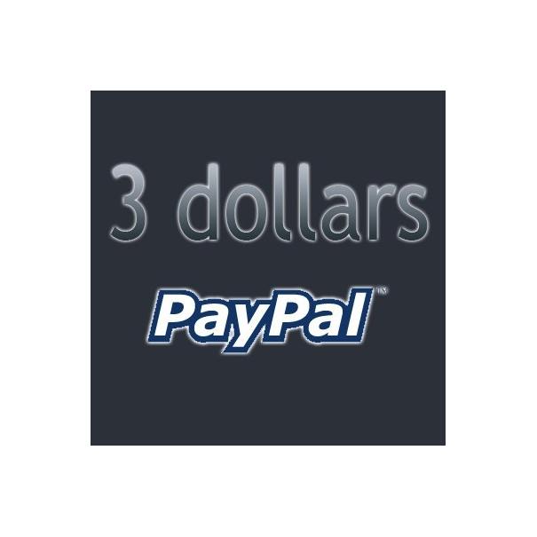 Doação de $3