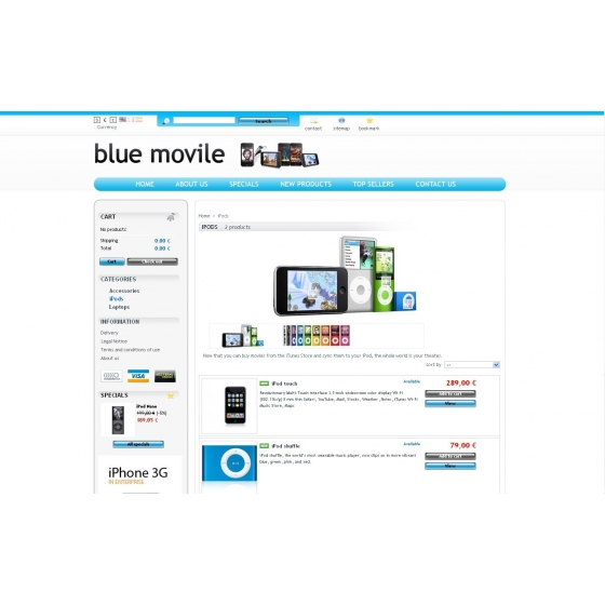 Azul movile