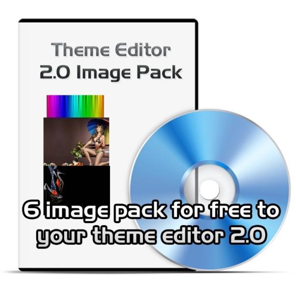 Téma editoru 2.0 image pack