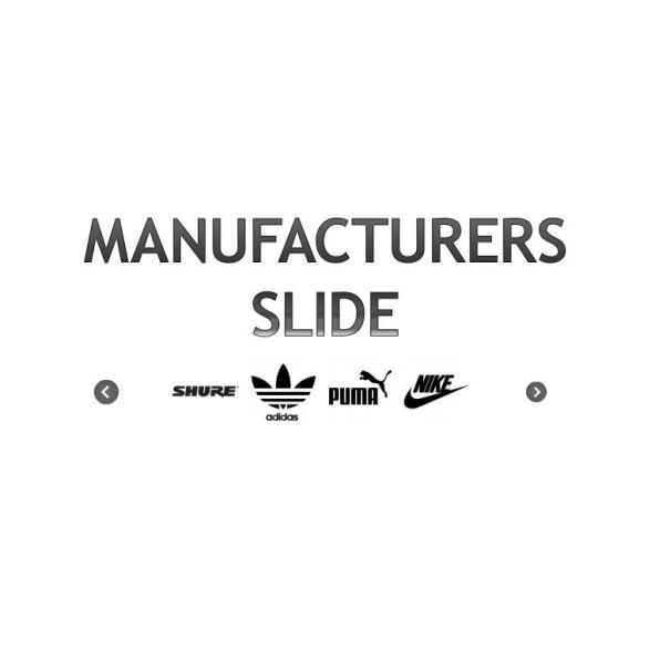 Manufacturers Slide