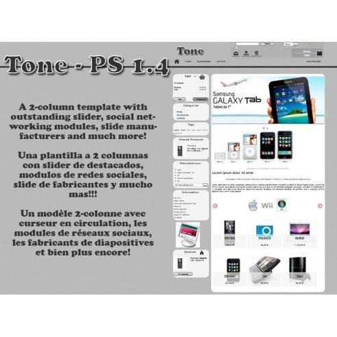 Tone - prestashop theme