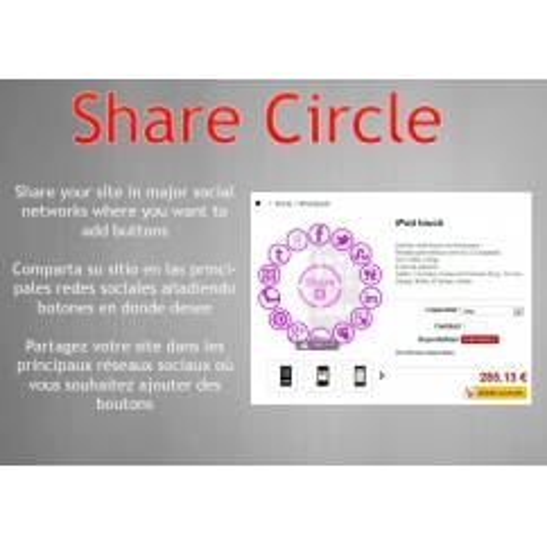Share Circle prestashop