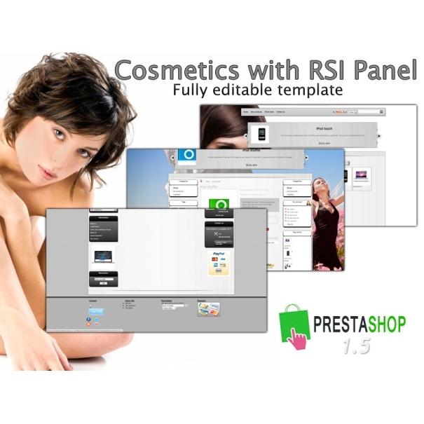 Cosmetics With RSI panel (theme editor) - PS 1.5