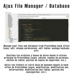 Ajax File / Database Manager