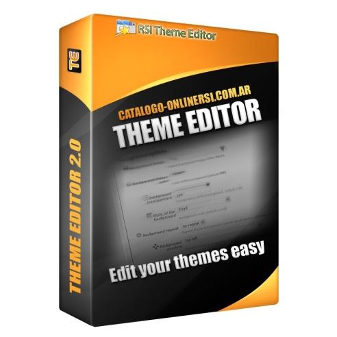 Theme editor manual 1.3